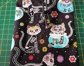 Bag featuring Sugar Skull Cats