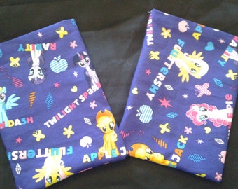 Dice Bag Made from My Little Pony Fabric - With Names