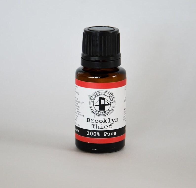 Brooklyn Thief Essential Oil Blend 15ml clove cinnamon image 0