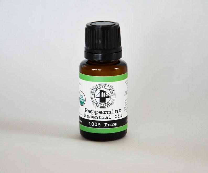 Organic Peppermint Essential Oil 15ml Peppermint essential image 0