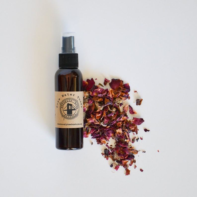 Rose Water Toner  Facial Mist  Pure Rose Water  Hydrating image 0
