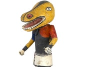Yellow Hopi Kachina doll - Native American culture - USA
