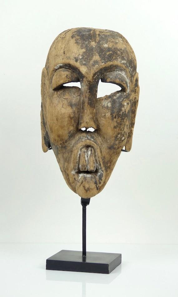Masque Topeng Punakawan en bois léger - Indonésie - Java / Topeng Punakawan  mask made of light wood