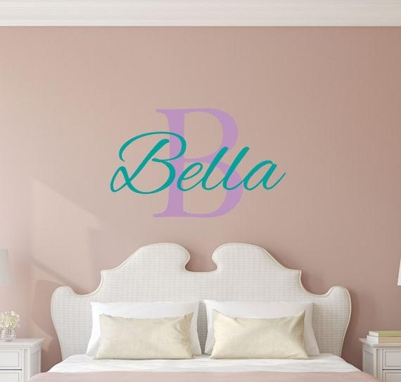 Sticker Boys Bedroom Nursery Personalized Name Vinyl Decal Wall Monogram