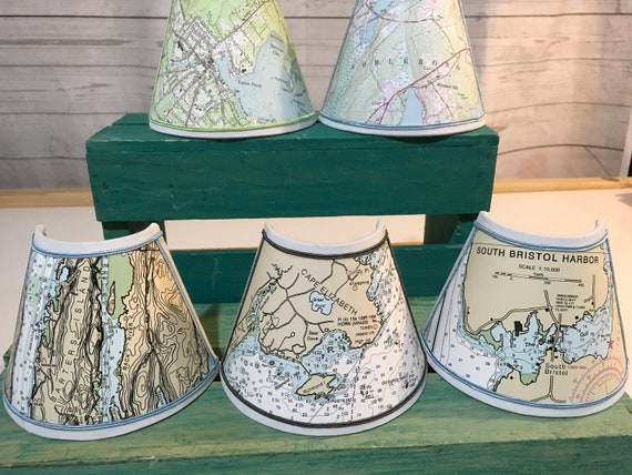 Night Light - Nautical Chart