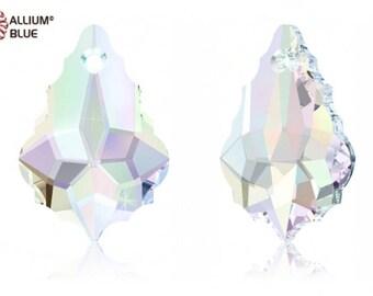 Swarovski 6090 - Baroque Crystal Pendant