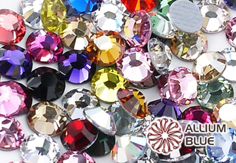 3413318d0 SWAROVSKI 30ss / 34ss Xilion Crystal Round Flatback Rhinestone | Etsy