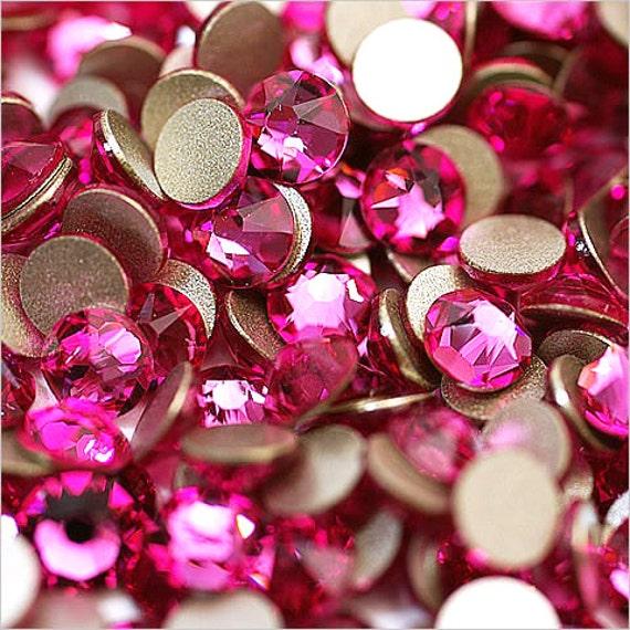 3288 Swarovski® Sew On Crystals Xirius Crystal Metallic Sunshine