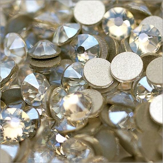 "TOUPIES SWAROVSKI 25 Perles Cristal LIGHT COLORADO TOPAZ /""AB/""  246-4 mm"
