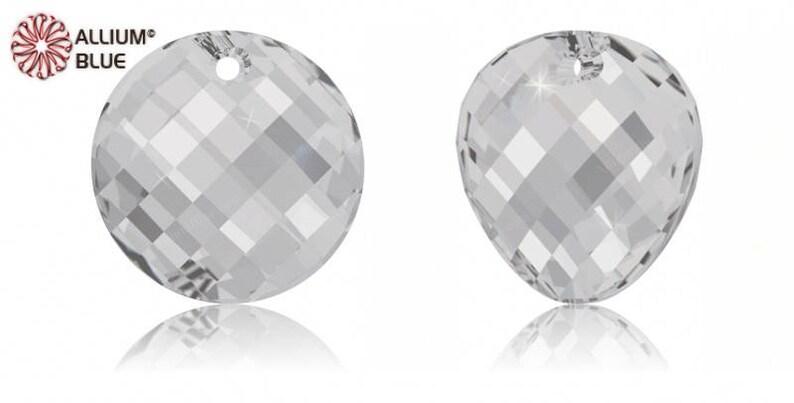887059f11 Swarovski 6621 Twist Crystal Pendant | Etsy