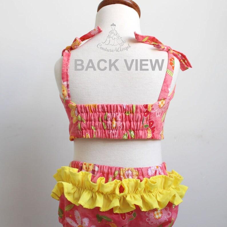 Baby Badpak.Gratis Verzending Baby Badpak Coral Blossoms Baby Badpak Etsy