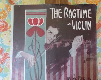 The Ragtime Violin by Irving Berlin 1911