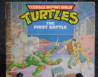 Teenage Mutant Ninja Turtles The First Battle book 1990