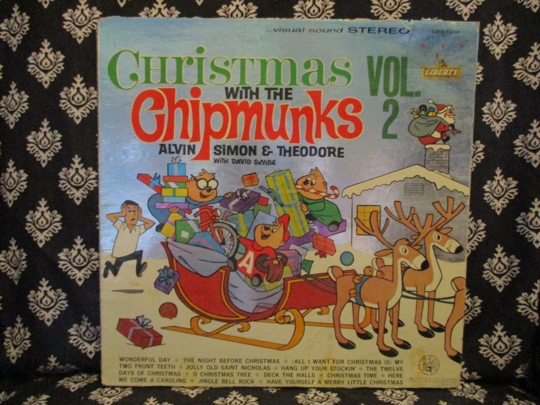 Christmas with the Chipmunks Vol. 2 Record LP Album