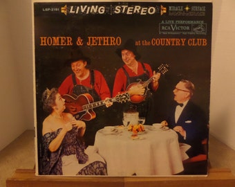 Homer & Jethro at the Country Club record album LP