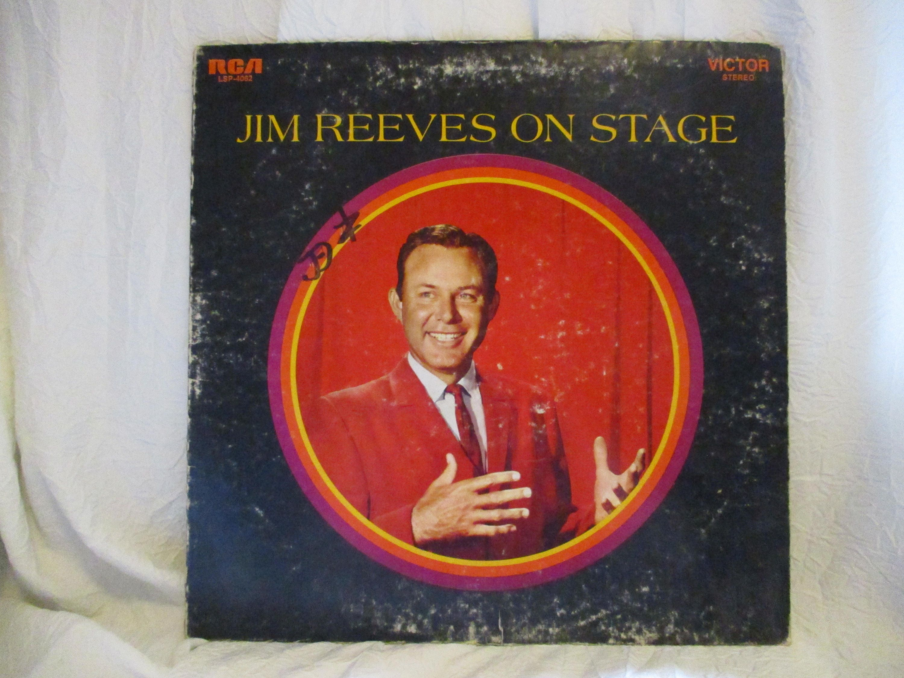 Jim Reeves on Stage Record LP Album | Etsy