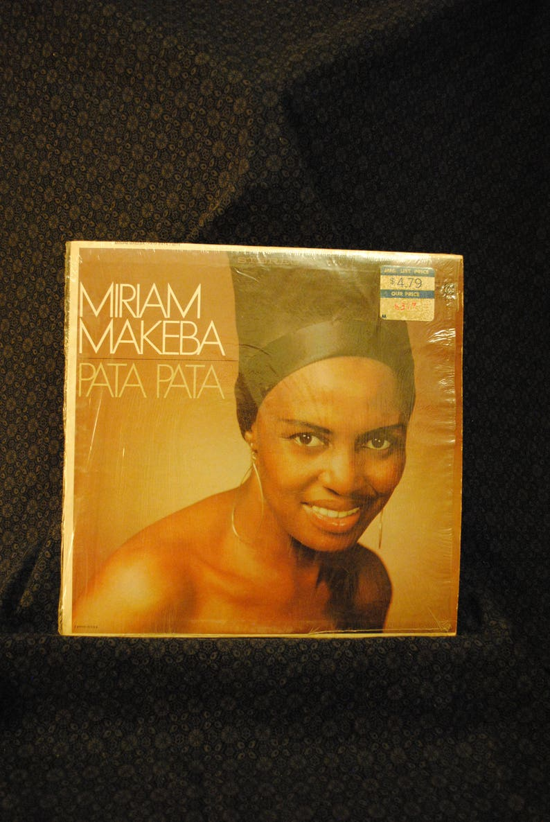 Miriam Makeba Pata Pata Record LP Album