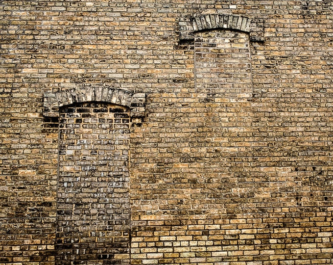 TWO BRICK WINDOWS