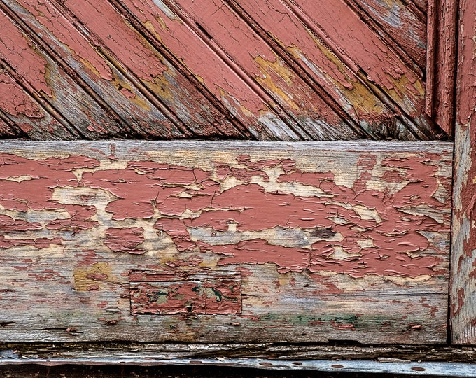 PEELING FADED PAINT