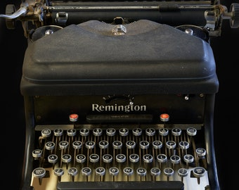 REMINGTON TYPEWRITER (vertical) | photograph