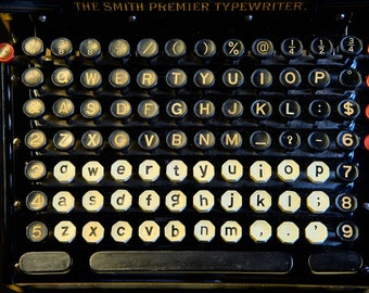 SMITH PREMER TYPEWRITER | photograph