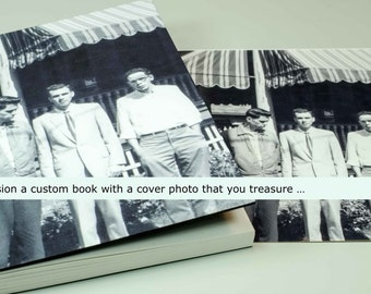 "YOUR CUSTOM COVER 02 | ~8x6"" journal"