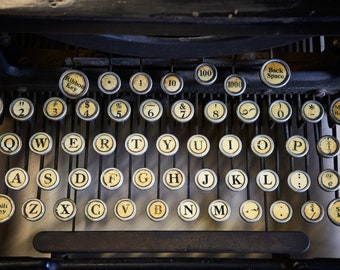 LC SMITH TYPEWRITER | photograph