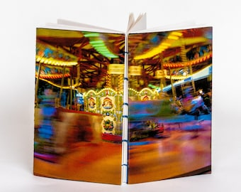 "bn| LONDON CAROUSEL | ~6x3.5"" notebook"