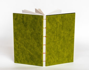 "bn| GLAM GREEN | ~6x3.5"" notebook"
