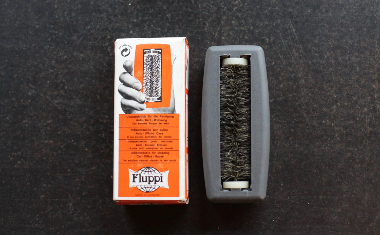 Vintage 1950s fluppi lint brush humorous gift beard brush etsy