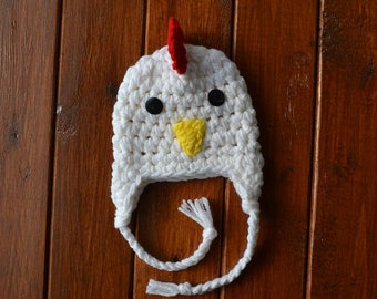 Crochet Chick Hat Etsy
