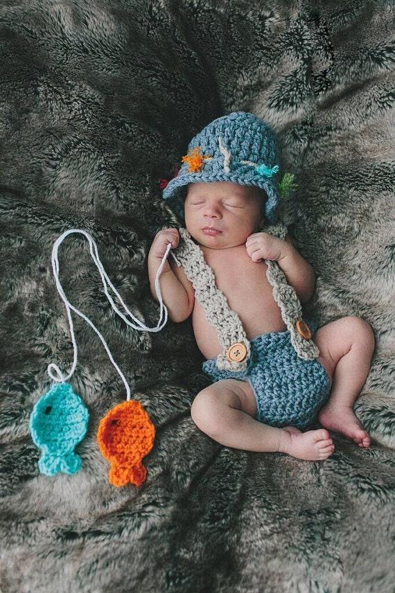 Baby Fisherman Baby Fisherman Hat Baby Fishing Outfit  8aee804537b