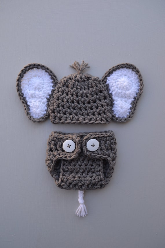 2020 Novelty Adorable Valentines Baby Grey Elephant Hat,Handmade ... | 855x570