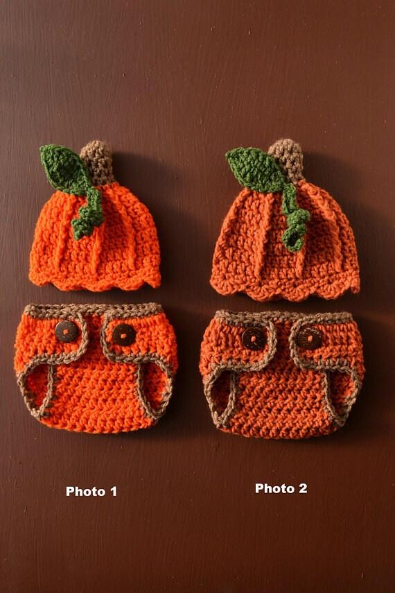 Bébé citrouille au Crochet chapeau couche couverture ensemble   Etsy d5d33f53e2a