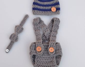 Crochet Baby Outfit Crochet Baby Clothes Newborn Photo Outfit Boy Baby Coming Home Outfit Newborn Crochet Outfit Newborn Boy Photo Outfit