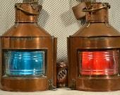 Alderson Gyde Ltd. Ships Port Starboard Ship Lanterns