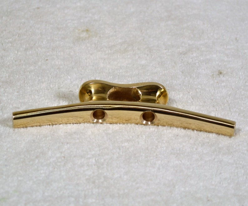 """POLISHED BRASS CLEAT 6/"""""""