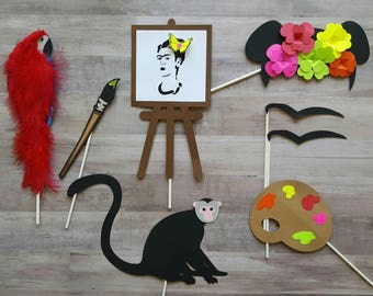 Frida Kahlo Custom Photo Booth Props