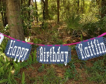 Frida Kahlo Inspired Personalized Banner