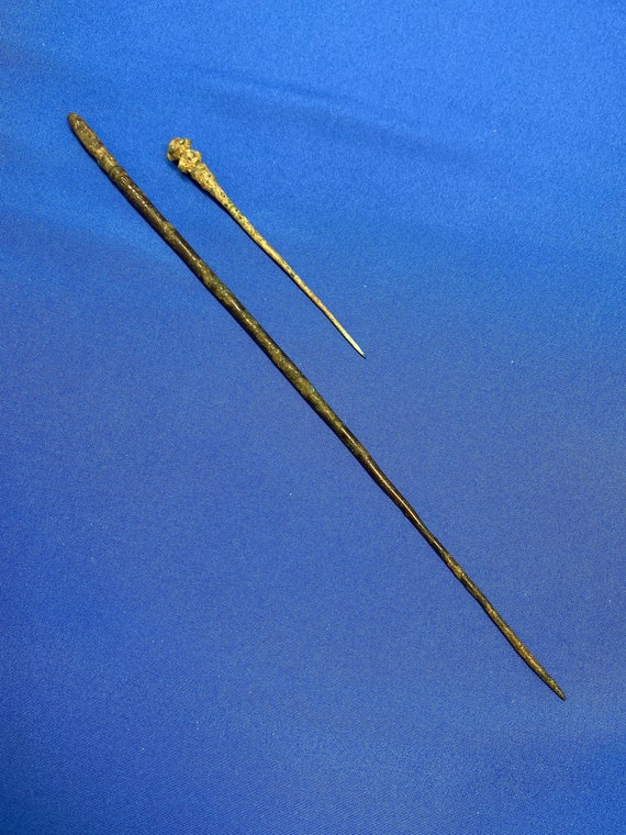 Ancient Bronze Roman Hairpins Dating From 2nd-4th… - image 1