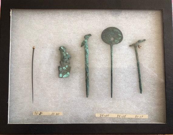 Ancient Peru-Inca Times 1000-1200 AD Copper Hairpi