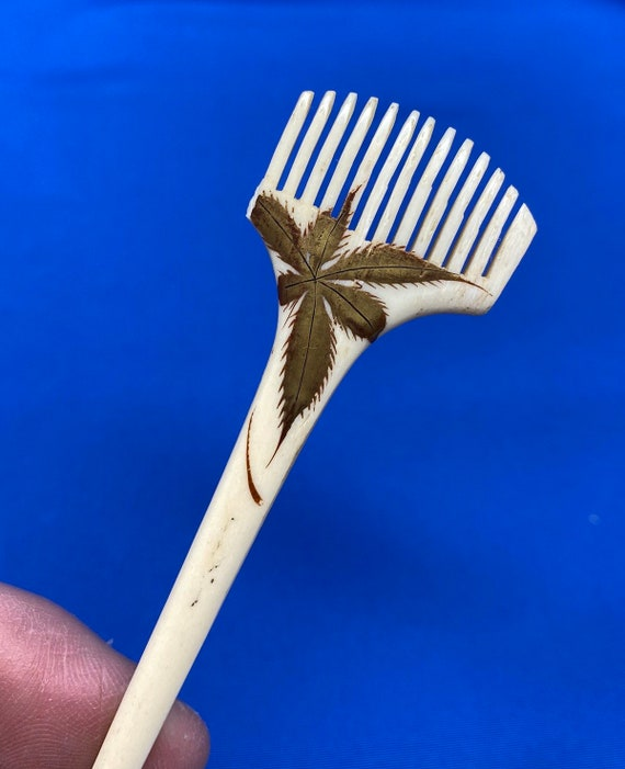 Vintage Set of 5 Antique Hairpins or Bodkins - image 7