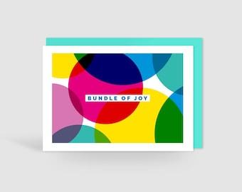 Bundle of Joy New Baby Card