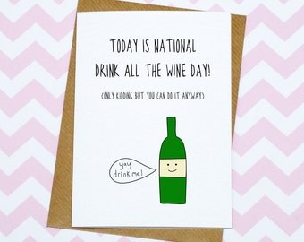Drink Birthday Card