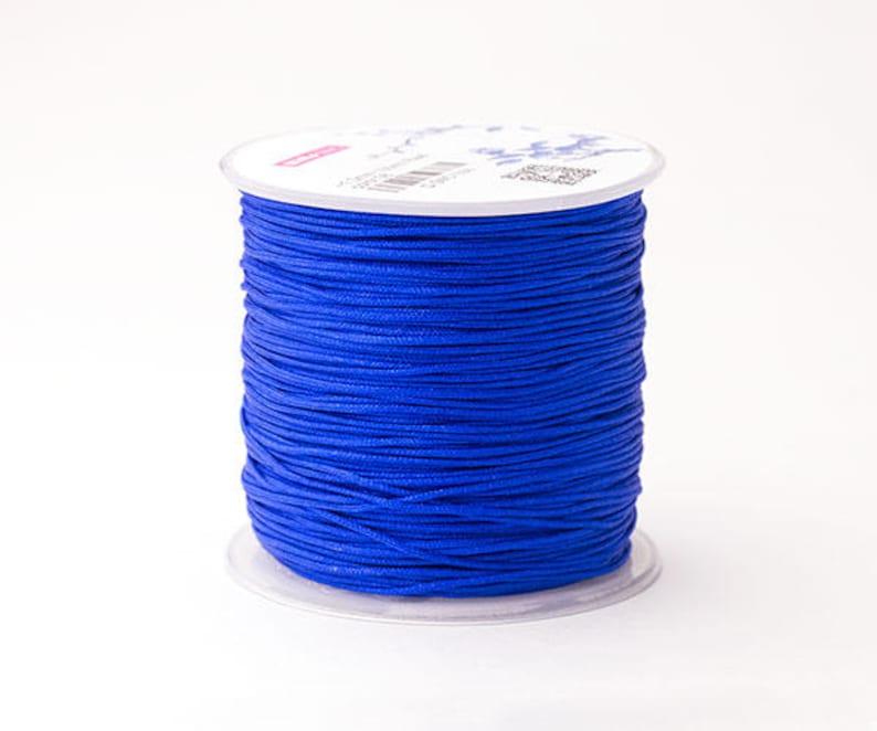 Nylon Cord \u2013 Pick A Color Macrame String 20ft \u2013 1mm Braided Beading Thread Chinese Knotting Cord