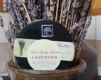 Lavender Body Butter by AKZEN
