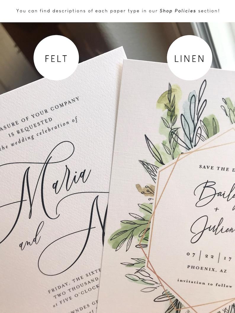 Formal Wedding Invitation Fancy Script Simple Handwritten Script Invitation Elegant Wedding Invitation