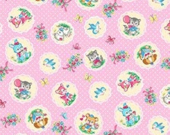 Kawaii Friends Shirting LW2020 13C Pink
