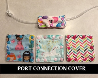 Port Connection Cover- Tube Feeding- Port Protector- Port Cover-Feeding Tube Connection Cover