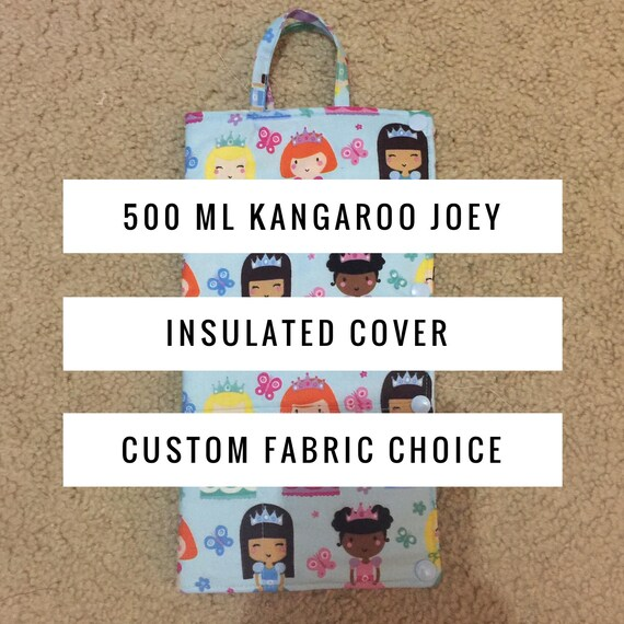 500 Ml Cold Insulated Kangaroo Joey Pump Bag Cover Insulated Etsy
